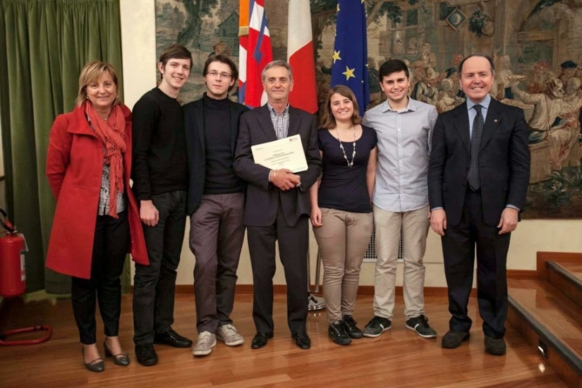 Il gruppo della Compagnia alla premiazione.jpg